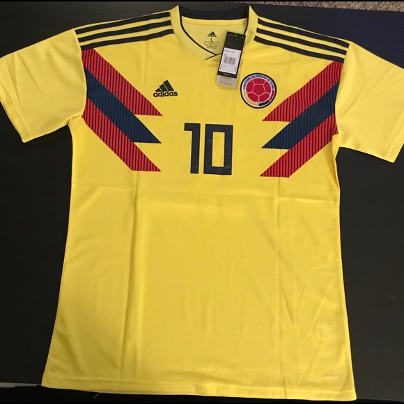 best website ba1f1 242be Columbia James Rodriguez Jersey 2018 World Cup NWT